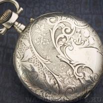 Швейцарские серебряные карманные часы - около 1900