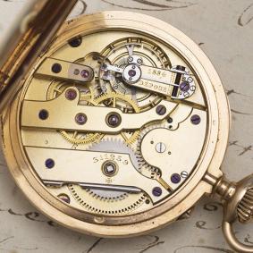 Antique 1900s 18k Gold VACHERON CONSTANTIN Pocket CHRONOMETER Men Gents Watch
