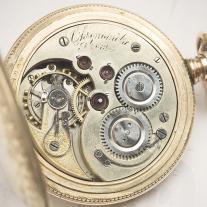 Antique 1900 Swiss SPRING DETENT ESCAPEMENT CHRONOMETER Pocket Watch