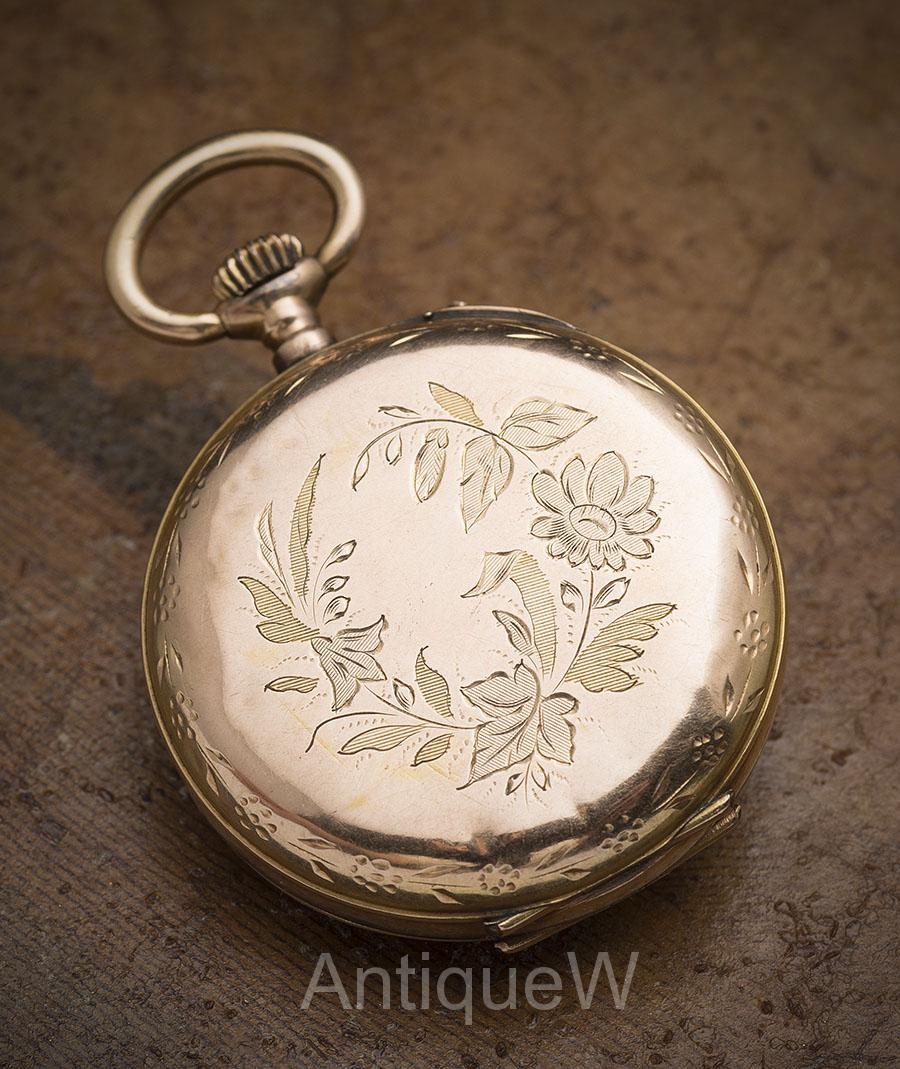 Beautiful antique solid 18k gold lady pocket pendant watch lady beautiful antique solid 18k gold lady pocket pendant watch mozeypictures Choice Image