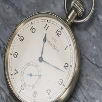 Pocket  chronometer watch by IWC - KM for German Navy