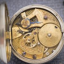 Antique Duplex / Crab Leg Escapement Pocket Watch for Chinese Market