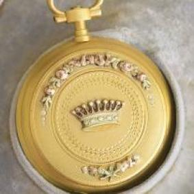 Excellent Antique Lady Pocket/Pendant Watch - for Count Family