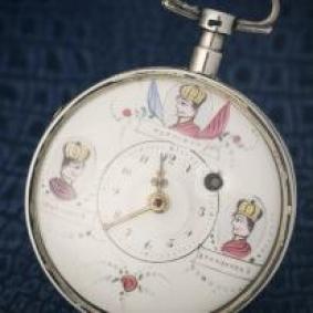 Antique Three Emperors verge fusee pocket watch - Breguet a Paris